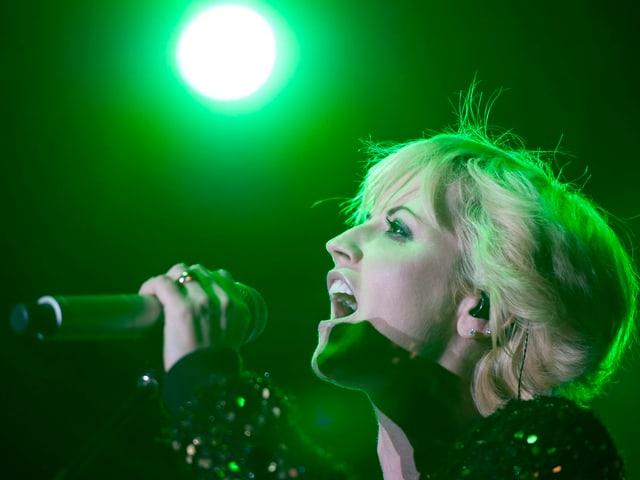 Die irische Sängerin bei einem Konzert in Deutschland im Oktober 2012.