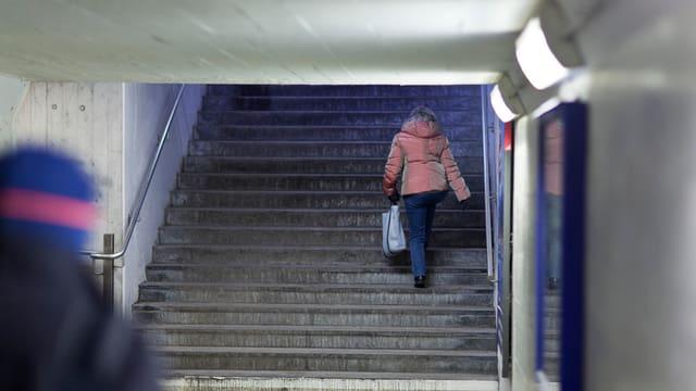 Unterführungen: Für viele Frauen löst dieser Gang Unsicherheit und Angst aus.