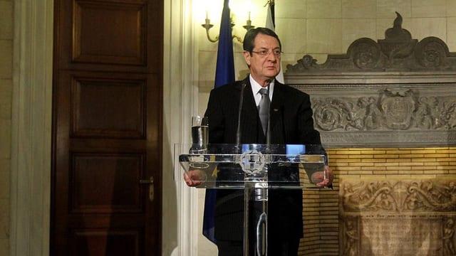 Zyperns Präsident Nikos Anastasiadis