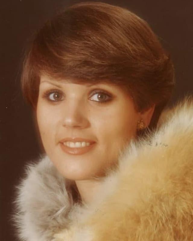 Porträtbild von Maja Brunner aus dem Jahr 1971.