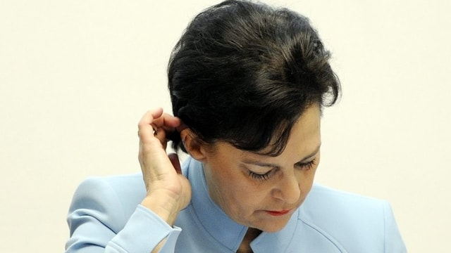 Finanzdirektorin des Kantons Zürich, Ursula Gut