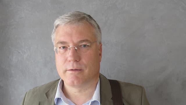 Rudi Farni, Abteilungsleiter des Asyl- und Flüchtlingswesens im Kanton Luzern