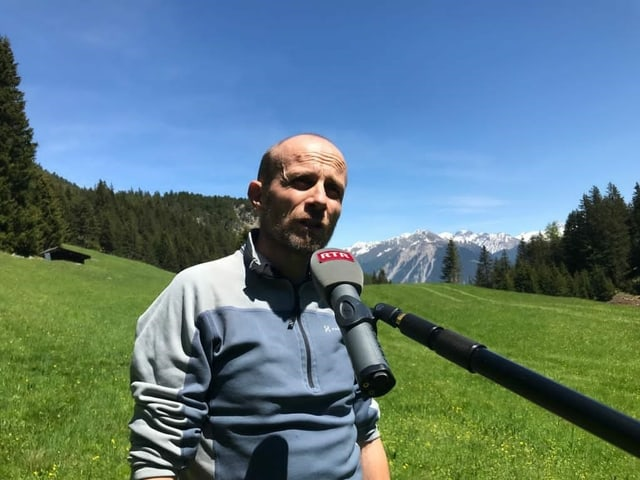 Ivo Thaler, il manader da project dal sistem da drenascha.