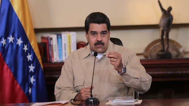 Staatschef Nicolás Maduro