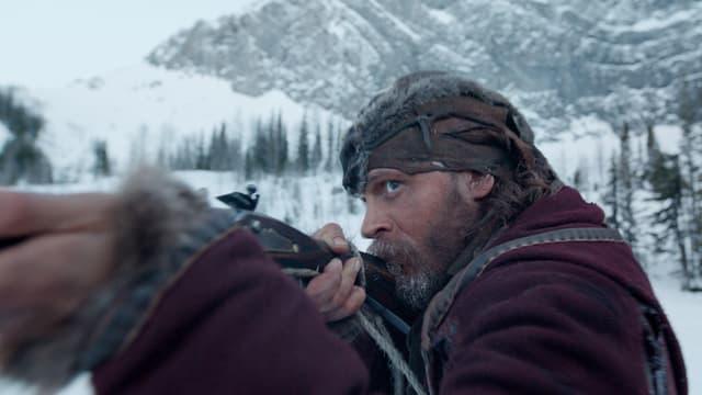 Leonardo DiCaprio en ina scena dal film The Revenant
