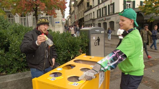 Video «Katja hilft sich und der Gesellschaft» abspielen