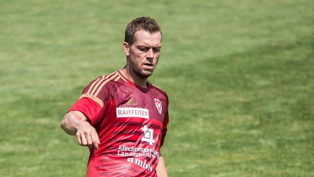 Pavel Pergl im Vaduz-Trikot