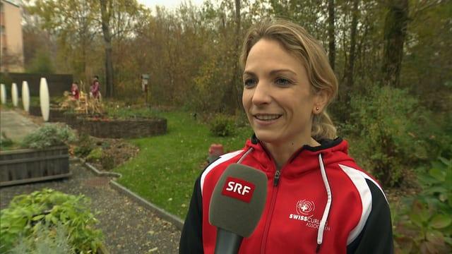 Silvana Tirinzoni freut sich auf die Heim-EM in St. Gallen.