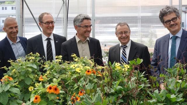 Da san: Markus Dünner, Christian Rathgeb, Mario Cavigelli, Mathias Fässler, Jürg Räber.