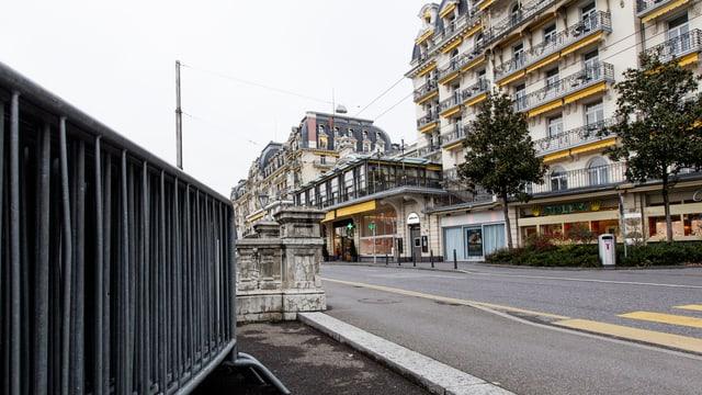 Hotel Fairmont in Montreux