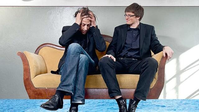 Pedro Lenz und Patrick Neuhaus