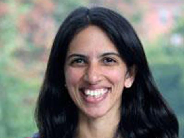 Radhika Nagpal im Porträtfoto