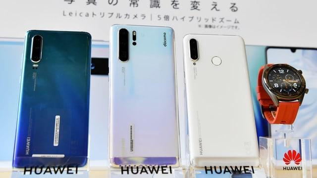 Telefonins da Huawei.