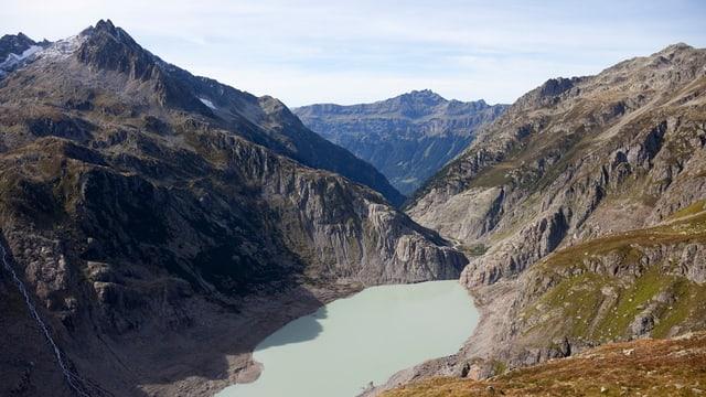 Blick auf den Gletschersee