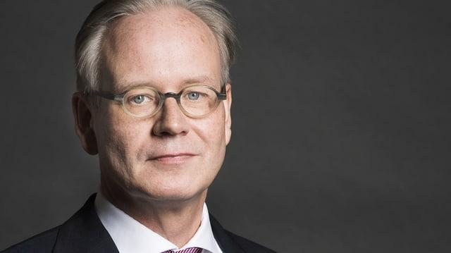 Der neue Chefredaktor der «NZZ»: Erich Gujer.