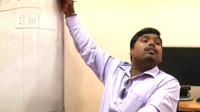 Video «Pawan Kumar ist Dozent geworden» abspielen