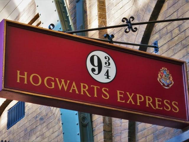 Schild Hogwarts Express