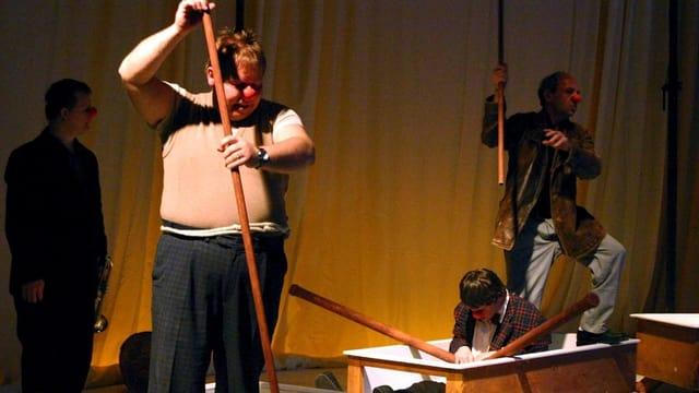 Das Hora-Theater mit behinderten Darstellern in Aktion
