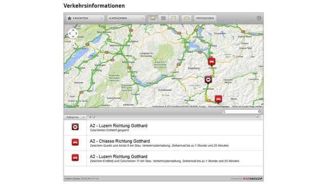 Verkehrsinformationen