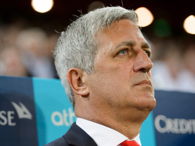 Nati-Trainer Vladimir Petkovic beim Spiel gegen England