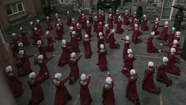 Unheimlich: Szene aus der zweiten Staffel von «Handmaids Tale».