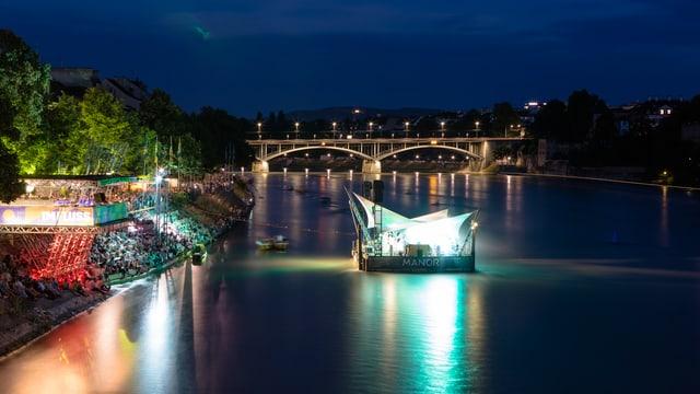 Was ist das für ein Ausblick am «Imfluss»-Festival