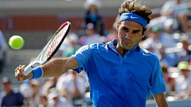 Roger Federer trifft in der zweiten Runde auf Carlos Berlocq.