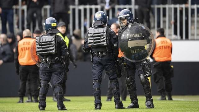 GC-Eklat: Liga spricht 5 Stadionverbote aus