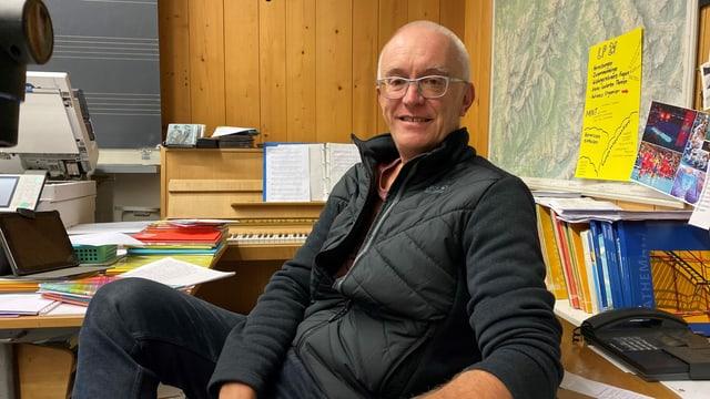 Hans Laely, president communal da Tavau Monstein.