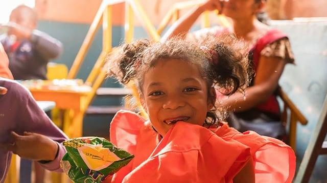 Ein Mädchen darf dank 60 Franken in Madagaskar in die Schule gehen