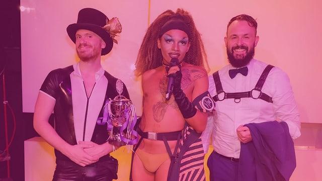 Brian McCabe, Ivy Monteiro & Dominik Cavalli