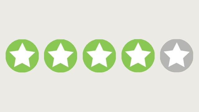 Vier Sterne