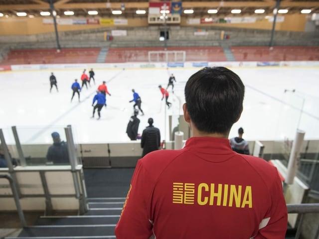 Chinas Eishockey-Nati muss um die Olympia-Teilnahme bangen.