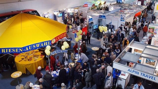 Viel Publikum an der Rheintalmesse.