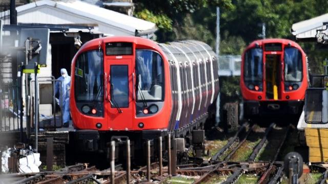 Trens a Londra-
