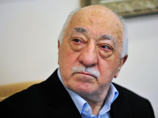 Fethullah Gülen im Juli 2016 bei einem Interview