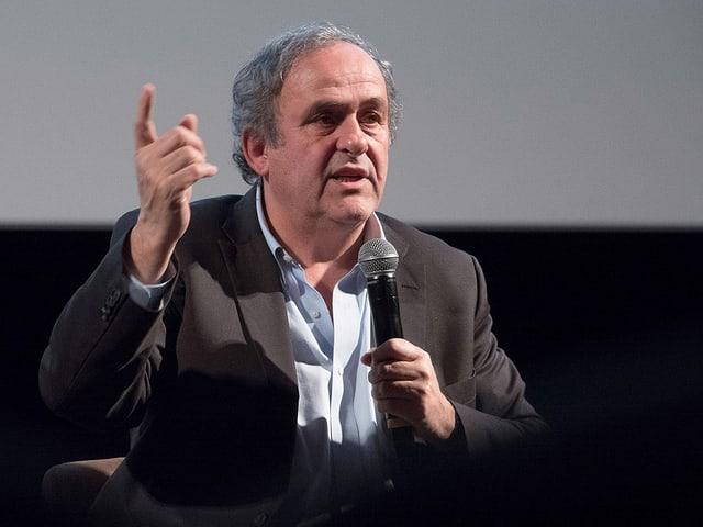 Der ehemalige Uefa-Präsident Michel Platini.