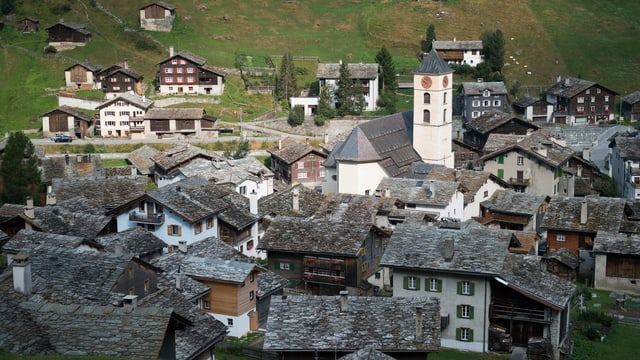 Dorf Vals