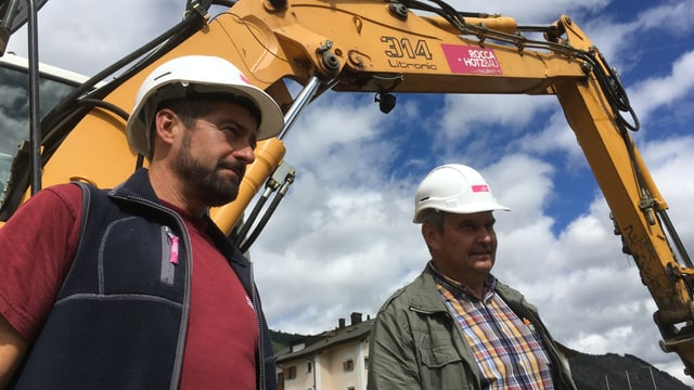 Valter Mengolli e Gian Rudolf Caprez
