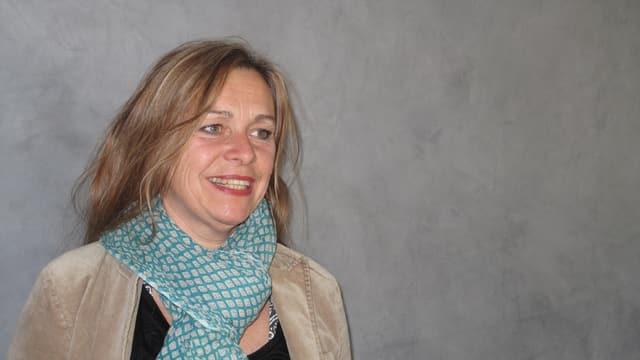 Die Sängerin Dominique Grütter