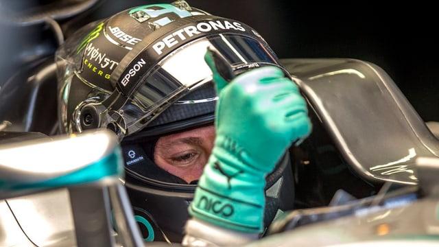 il pilot Nico Rosberg