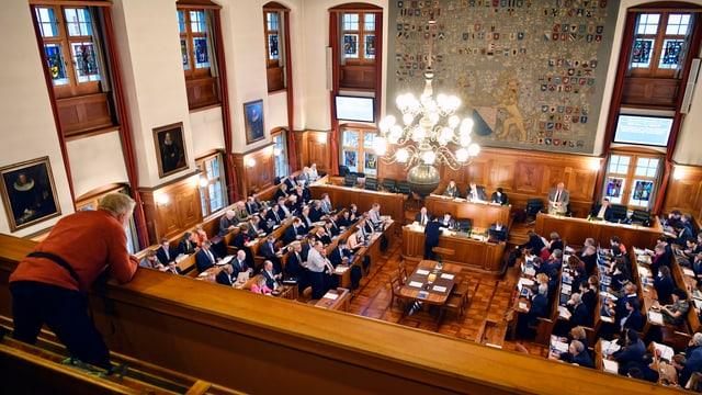 Il parlament dal chantun Turitg.