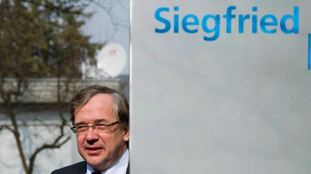 Rudol Hanko, Chef der Siegfried Holding.