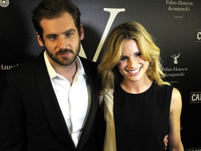 Michelle Hunziker mit ihrem Verlobten Tommaso Trussardi