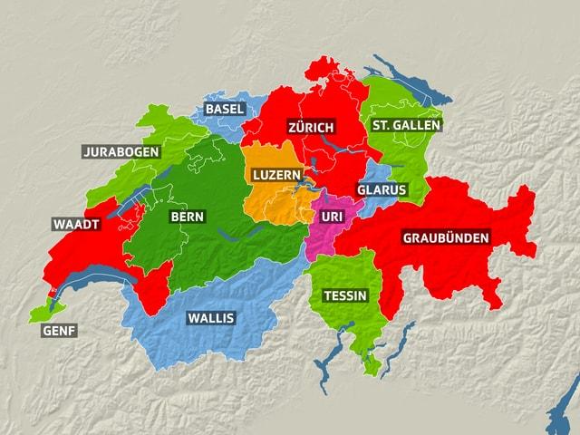 Schweiz Eine Schweiz Mit Neun Kantonen News Srf