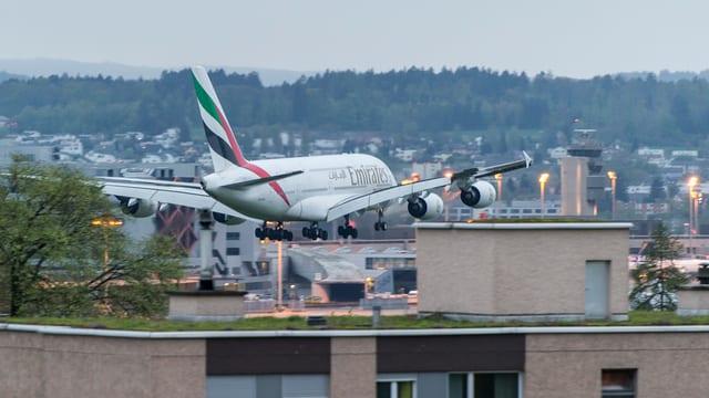 Starts über die Dächer von Zürich soll es nur bei Biswind geben, fordert der Regierungsrat.