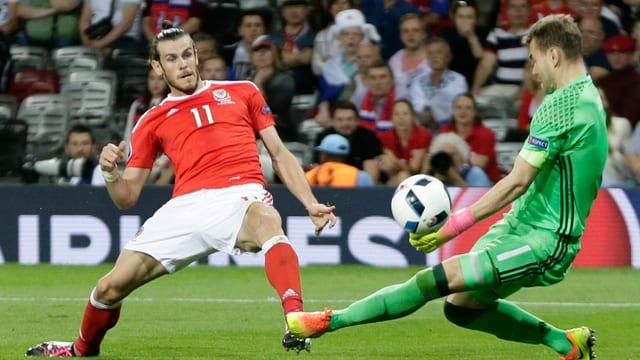 En il gieu cunter la Russia batta Gareth Bale il goli Igor Akinfejew.