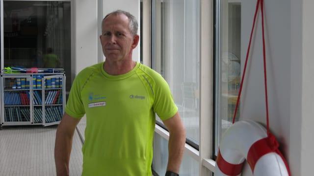 Hanspeter Heiniger, Anlagechef Hallenbad Weyermannshaus
