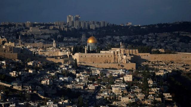 Stadtansicht von Jerusalem