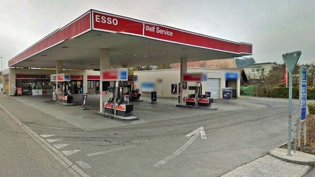 Tankstellen-Shop in Suhr